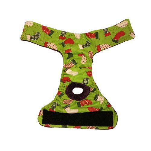 christmas-stocking-on-green-diaper-open