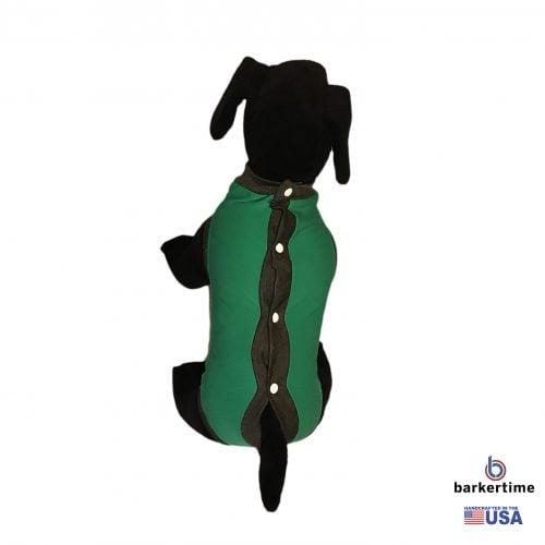 green peejama - model 1