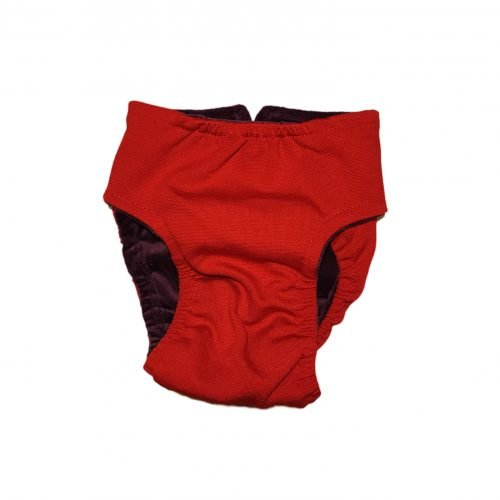 red diaper - back