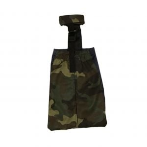 Camo Dog Drag Bag