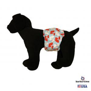 Happy Fox Washable Dog Belly Band Male Wrap