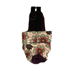 Passion Flower Escape-Proof Washable Dog Diaper Overall
