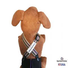 American Stripes Adjustable Suspender to Keep Dog Diapers On