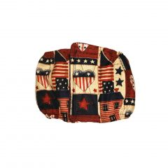 Hearts and Patriotic Love Washable Dog Belly Band Male Wrap