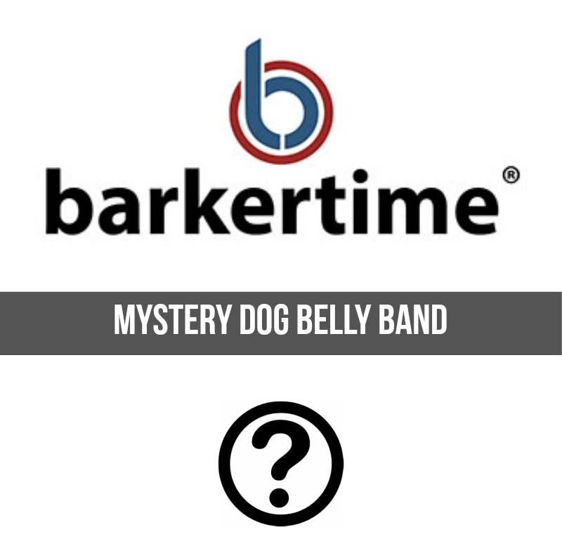 barkertime mystery washable dog belly band male wrap