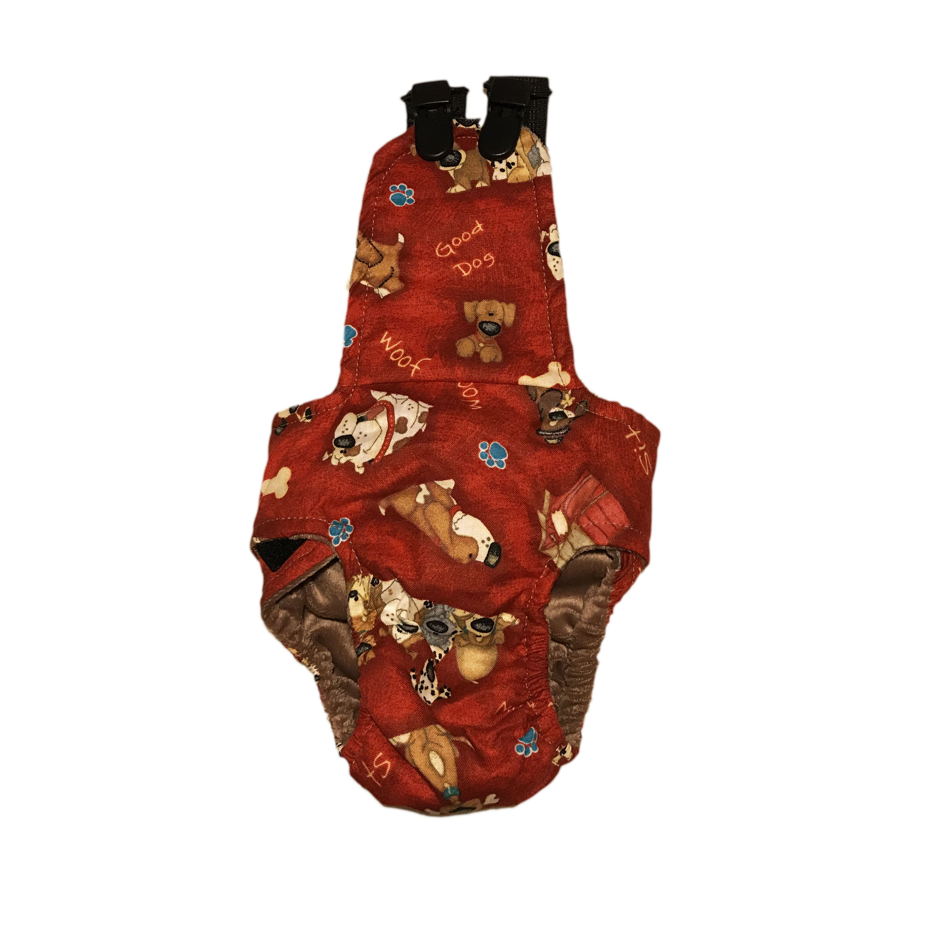 Barkertime Good Doggie On Red Escape Proof Washable Dog