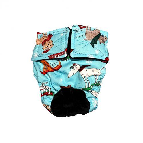 winter doggie diaper