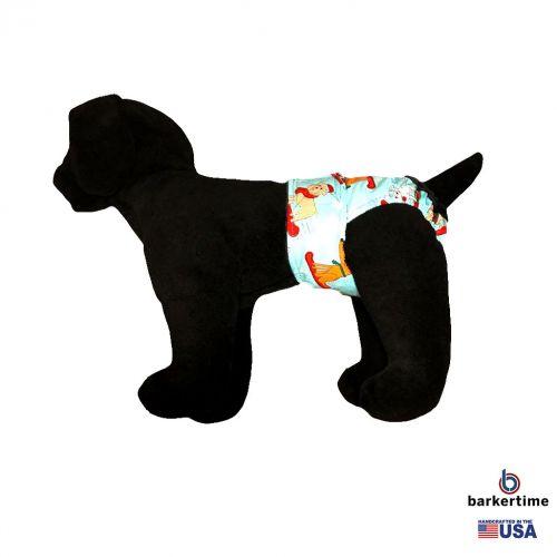 winter doggie diaper - model 1