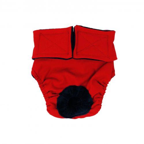 cherry red diaper
