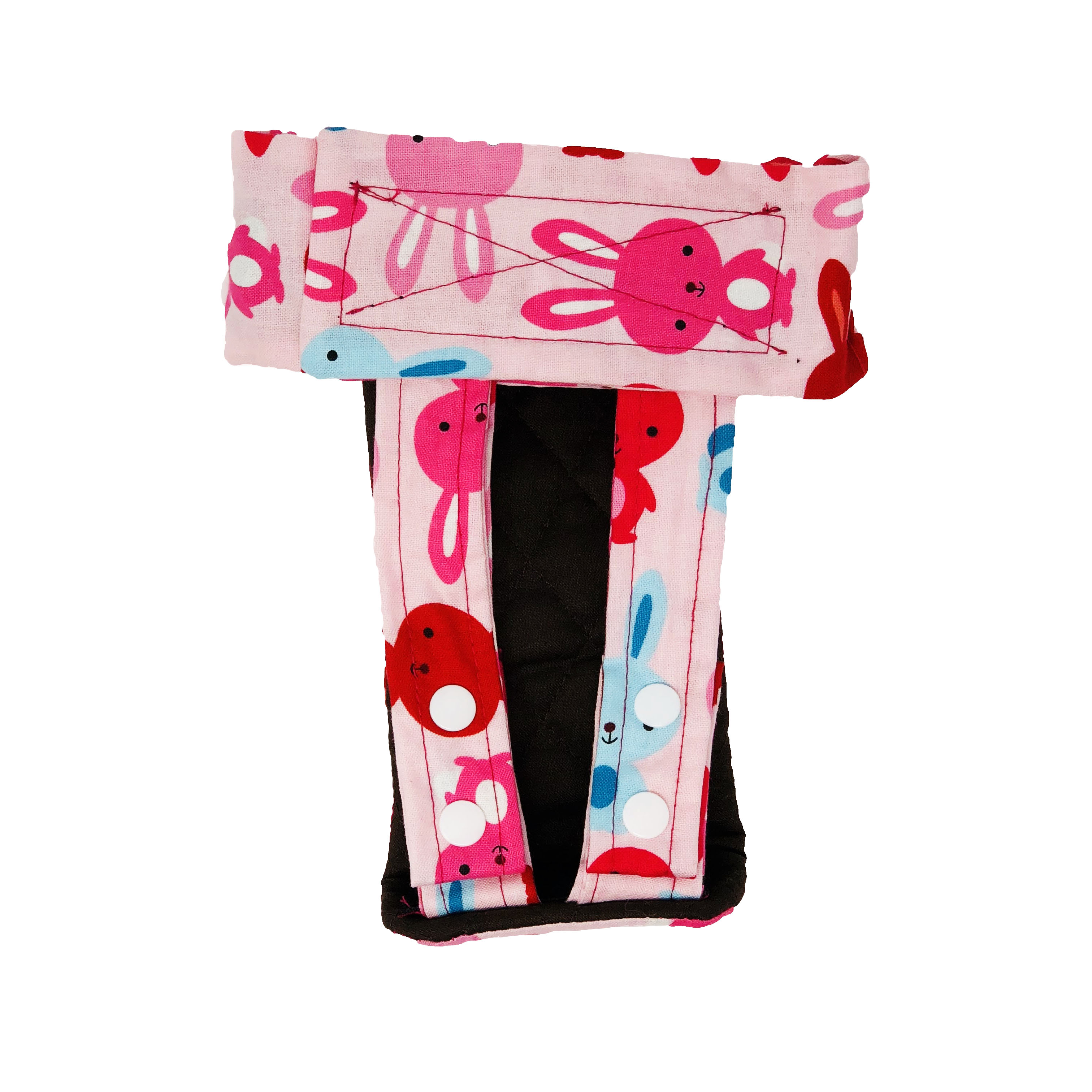 Barkertime Happy Bunny Washable Cat Diaper Pull Up