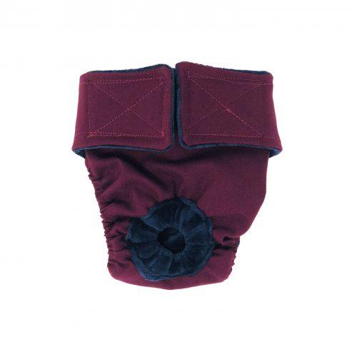 merlot red diaper