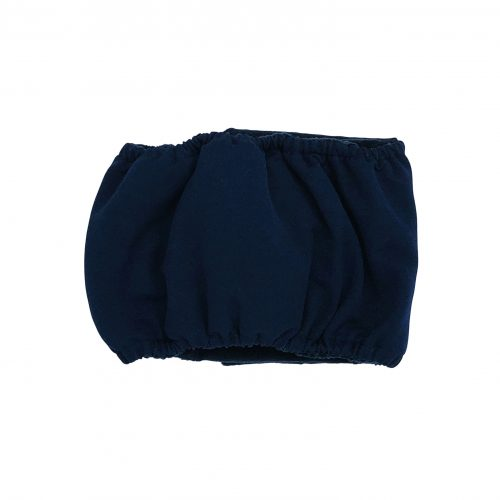 navy blue belly band - back
