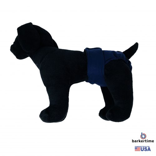 navy blue diaper - model 1