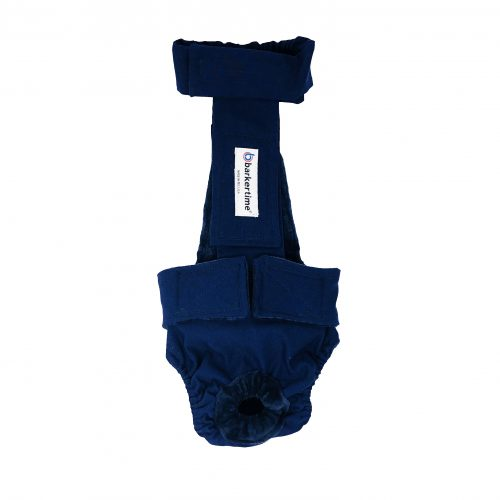 navy blue diaper overall