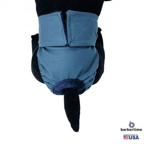 pacific turquoise diaper - model 2