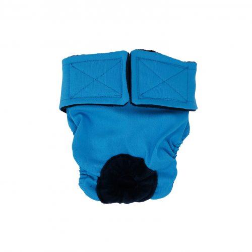 sky blue diaper