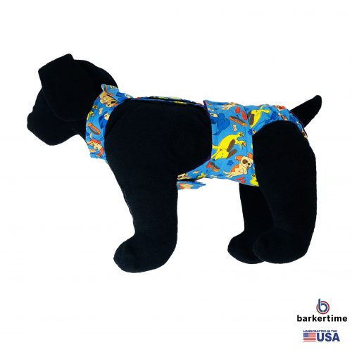 dreamy dog diaper overall - new - model 1