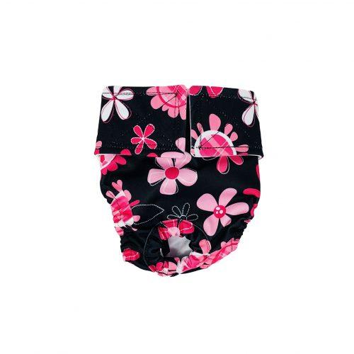 floral swim diaper