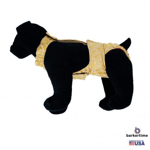 golden cheetah diaper overall - new - model 1