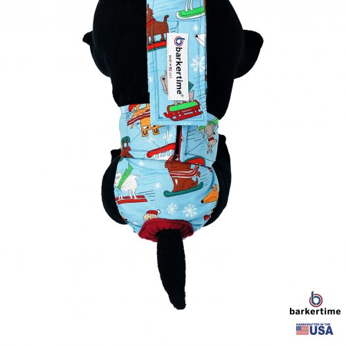 winter doggie diaper overall - new - model 2
