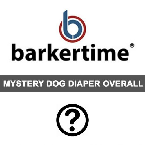 mystery dog diaper overall