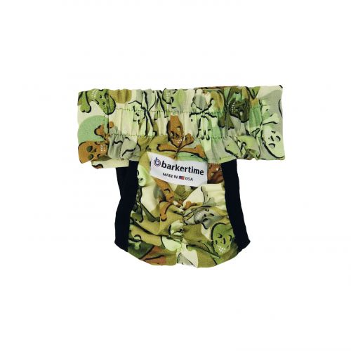 camo skulls diaper pull-up - back