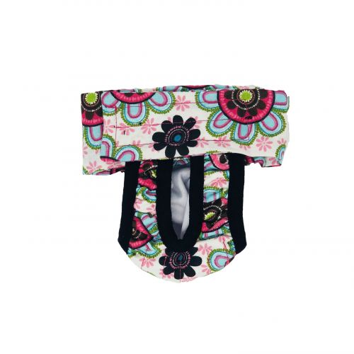 passion flower diaper pull-up - new