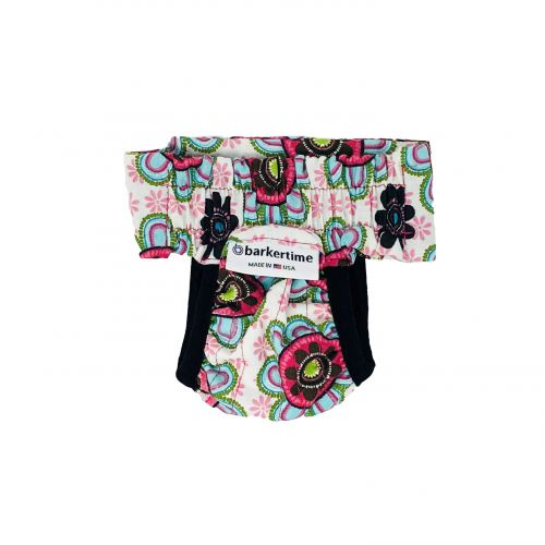 passion flower diaper pull-up - new - back