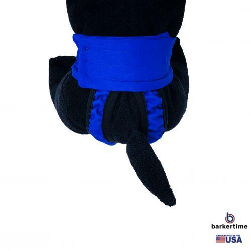 royal blue diaper pull-up - new - model 2