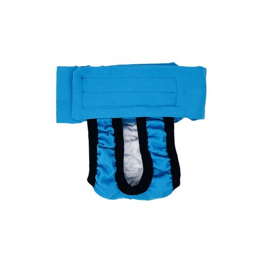 sky blue diaper pull-up - new