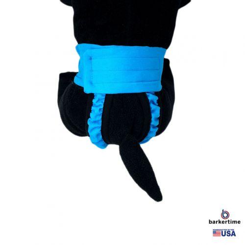 sky blue diaper pull-up - new - model 2