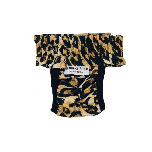 cheetah diaper pull-up - new - back