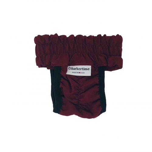 chocolate brown diaper pull-up - back