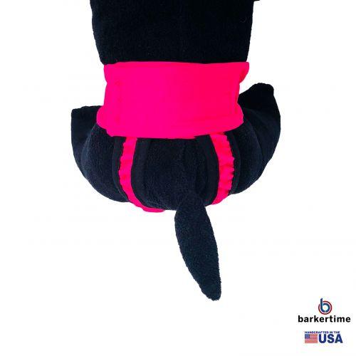 hot pink diaper pull up - model 2
