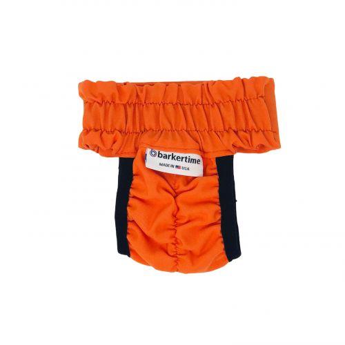 neon orange diaper pull-up - back