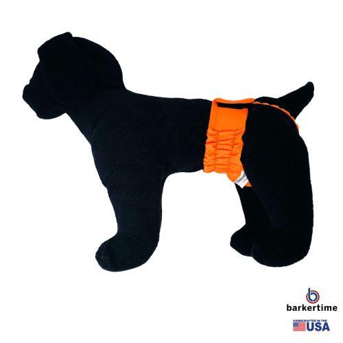 neon orange diaper pull-up - model 1