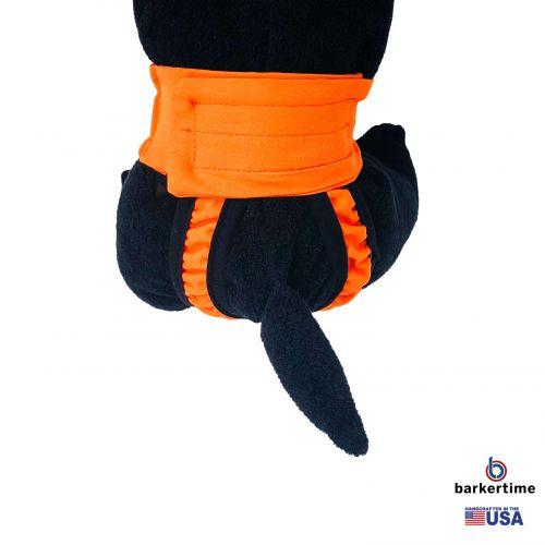 neon orange diaper pull-up - model 2