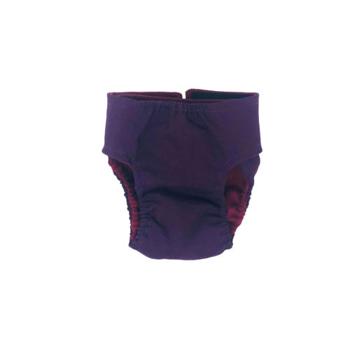 regal purple diaper - back