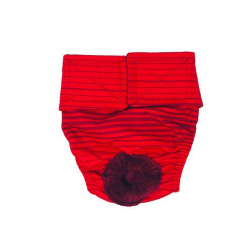 red stripes waterproof diaper