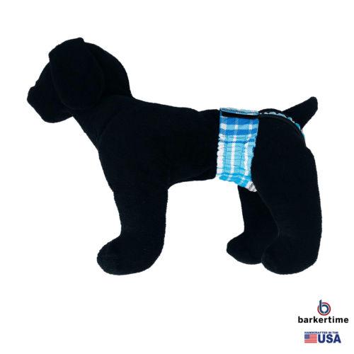 blue plaid waterproof diaper pull-up - model 1