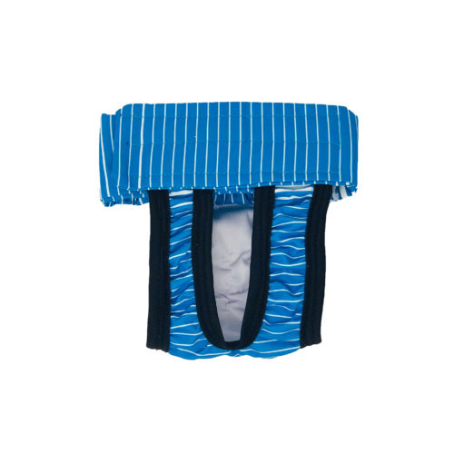 blue stripes waterproof diaper pull-up
