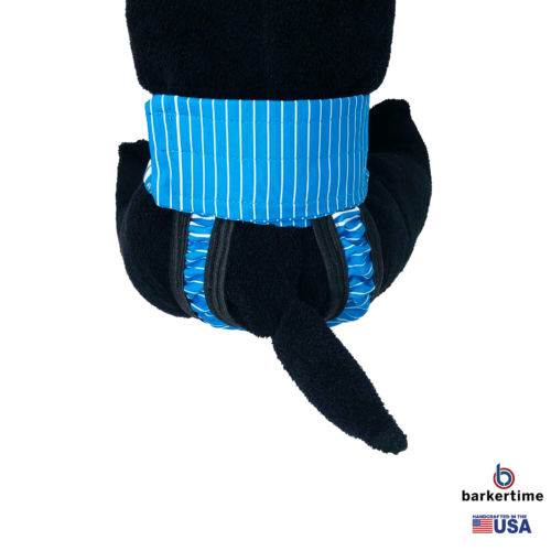 blue stripes waterproof diaper pull-up - model 2