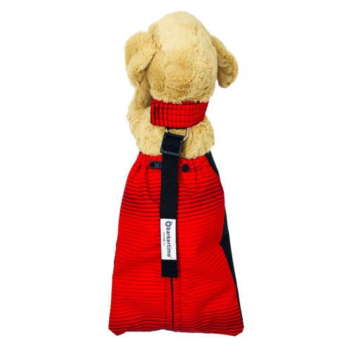red stripes waterproof drag bag - model 2