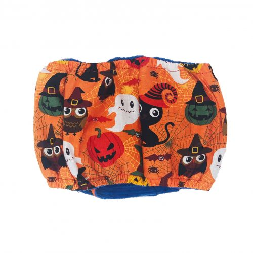 halloween belly band - back