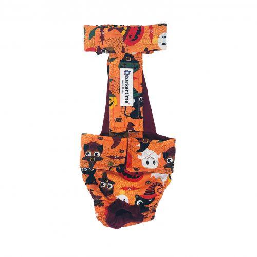halloween diaper overall