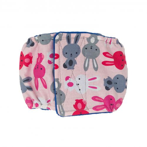 happy bunny belly band - new