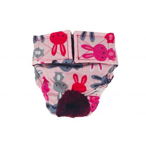 happy bunny diaper - new