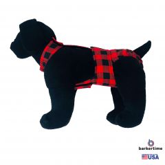 Barkertime Dog Diaper Made In Usa Keep Incontinent Dog