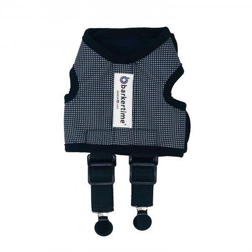 gingham suspender harness