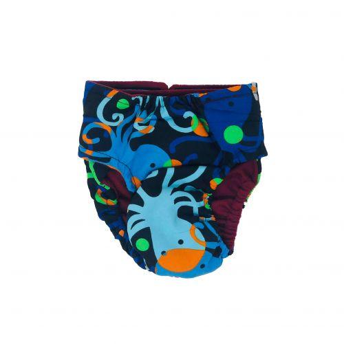octopus diaper -back